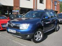 2013 63-Reg Dacia Duster 1.5dCi 110 ( 109bhp ) 4X4 Laureate,1 LADY OWNER!!!!!
