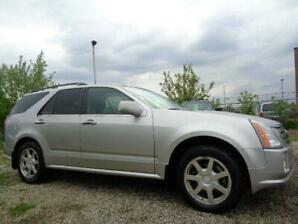 2005 Cadillac SRX--AWD--LEATHER-SUNROOF-ONE OWNER-ONLY 97,000KM