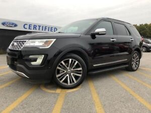 2017 Ford Explorer Platinum 4WD|HEATED & COOLED SEATS|MOONROOF