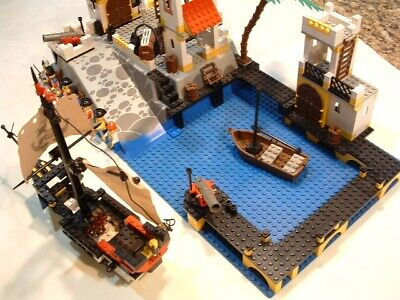 Vintage Lego Pirates Imperial Trading Post #6277 w/ original box & instructions