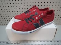 NEW - Macbeth Eliot - Muted red Classic Canvas Shoes Sz: 10 M