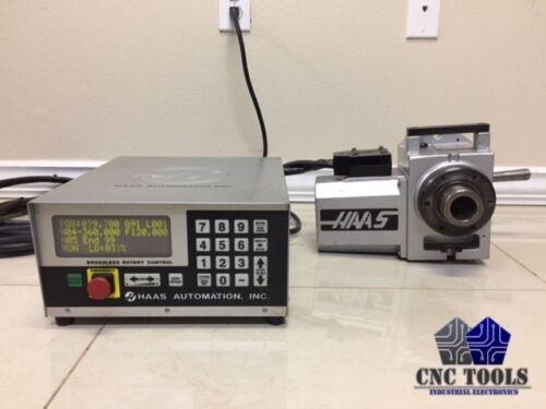 HAAS HA5C 5C INDEXER SIGMA-1 ROTARY & CONTROL BOX **SEE VIDEO**