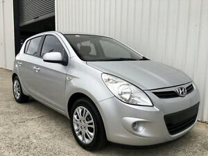 2011 Hyundai i20 PB MY12 Active Silver 5 Speed Manual Hatchback Parkwood Gold Coast City Preview