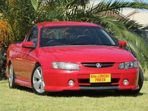 2003 Holden Ute VY SS Red 4 Speed Automatic Utility Hendon Charles Sturt Area Preview
