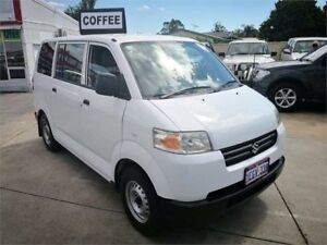 2009 Suzuki APV GD MY06 Upgrade White 5 Speed Manual Van Cannington Canning Area Preview