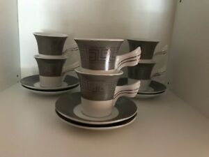 REDUCED PRICE MUST GO - Set of 6 Ceramic Espresso Cups