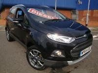 64 FORD ECOSPORT 1.5 TDCI TITANIUM X PACK DIESEL *LEATHER SEATS*£30 TAX*
