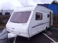 2005 Swift Challenger UTOPIA 520 Inc Motor Mover 4 Berth Touring Caravan.