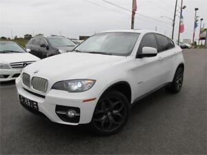 2009 BMW X6 35i *LEATHER,SUNROOF,NAVIGATION,WHITE ON BLACK!!!