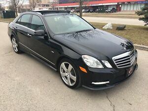 2012 MERCEDES-BENZ E350 4MATIC*NAVI*CAMERA*PANO*BLINDLANE ASSIST