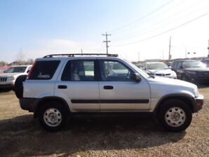 2000 HONDA CR-V LX=4WD-RUNS AND DRIVES EXCELLENT