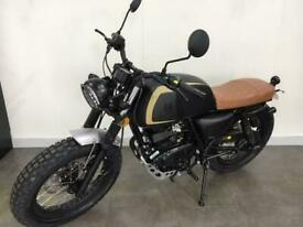 Mutt Akita 125 2020 Matt Black 125cc Learner Legal Motorbike