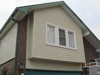 "5"" & 6"" Seamless Eaves, Siding, Soffit, Windows, Doors, Stone"