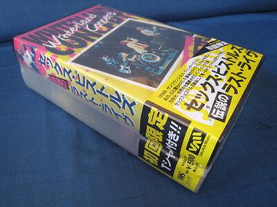 Sex Pistols Winterland Concert Japan Factory Sealed Video w T-Shirt Set Sid