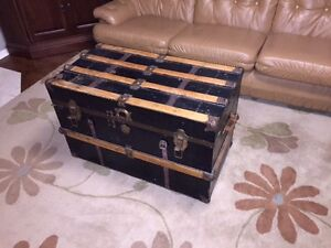 Antique steamer trunk Peterborough Peterborough Area image 2