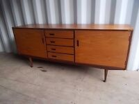 Stunning Retro Vintage Mid Century Meredew Sideboard,Can Deliver