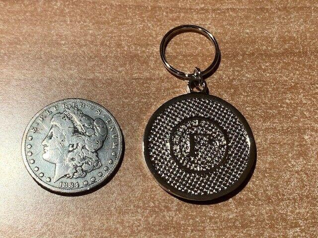 Federal Signal Q siren vintage key chain