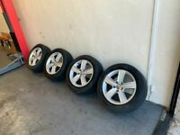 Genuine Volkswagen Alloys Alloy Wheels 205/55/16