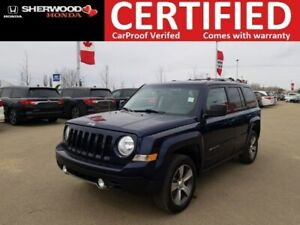 2016 Jeep Patriot High Altitude 4X4 | HEATED LEATHER | HOMELINK
