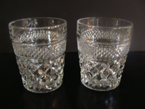 Anchor Hocking Wexford Pattern 2 Double Old Fashioned Rock Glasses 10 On
