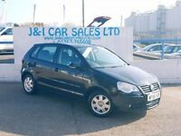 VOLKSWAGEN POLO 1.4 S 5d 74 BHP A LOW PRICE 5DR FAMILY HATCHBACK (black) 2005