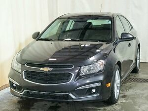 2015 Chevrolet Cruze 2LT RS Sedan w/ Turbo, Navigation, Leather,