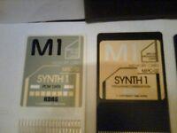 M1 KORG SOUND CARDS