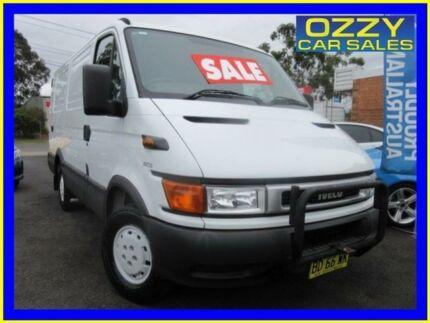 2002 Iveco Daily 35S13 LWB White Van 2.8l 4x2