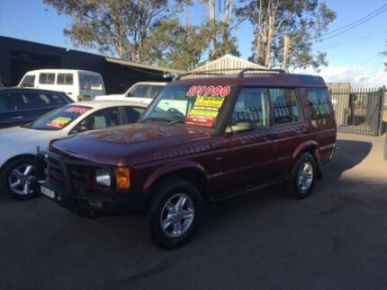 2002 Land Rover Discovery II SE7 TD5 (4x4) Burgundy 4 Speed Automatic 4x4 Wagon