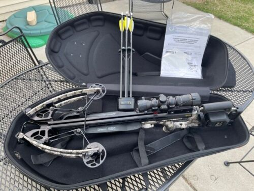 TenPoint Stealth NXT with AcuDraw Crossbow Package 410fps W/Stag hard case
