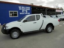 2012 Mitsubishi Triton MN MY12 GLX Double Cab White 5 Speed Manual Utility Welshpool Canning Area Preview