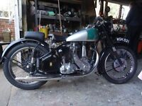 1955 BSA B31 350cc Motorcycle