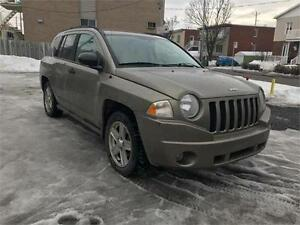 2007 Jeep Compass Sport     4X4     4 CYLINDRES   LIQUIDATION***
