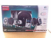 Logitech Z5500 THX-Certified 5.1 Digital Surround Sound Cinema Speaker System