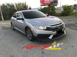 2016-2017 Honda civic 2/4 door JS Style Front Lip On Sale!