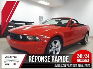 2010 Ford Mustang GT, CONVERTIBLE, CUIR, MAG, BLUETOOTH
