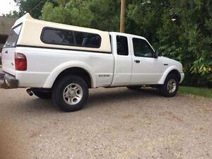 2002 Ford Ranger XLT Pickup Truck