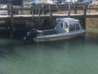 Dorey - 20ft. 120 hp (recon) outboard; gps; fish finder; VHF; v. fast great fishing boat; Shoreham