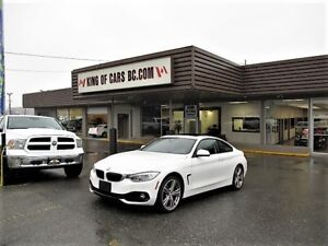 2014 BMW 4 Series 428 COUPE XDRIVE WITH COLLISION PREVENTION