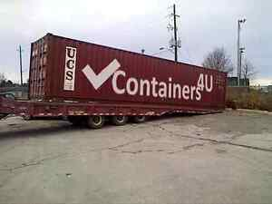 Sea Cans on Sale - Shipping and Storage Containers delivered VI!