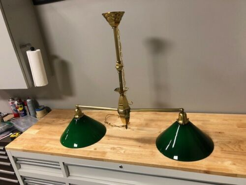 Vintage Pool Table lamp