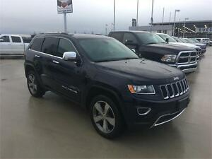 2015 Jeep Grand Cherokee Limited 4x4 dark blue