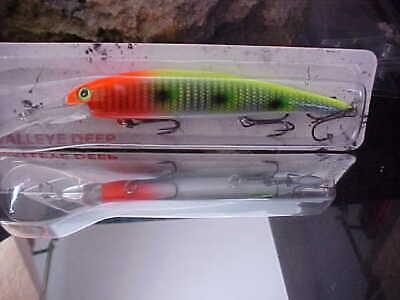1) Bandit Walleye Deep Cast/Troll Lure BDTWBD2B19 for Trout/Salmon/Bass/Walleye