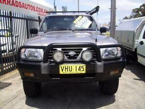 1998 Nissan Patrol GU ST (4x4) Gold 5 Speed Manual 4x4 Wagon Woodbine Campbelltown Area Preview