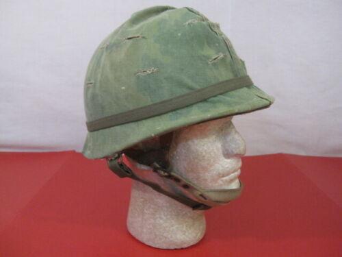 Vietnam Era M1C Paratrooper Helmet Complete with Liner Dated 1967 - 82nd 173rd 1