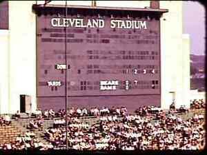1940 Chicago Bears @ Cleveland Rams NFL Game DVD