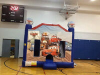 INFLATABLE BOUNCY WITH SLIDE (PARKER PARTIES)
