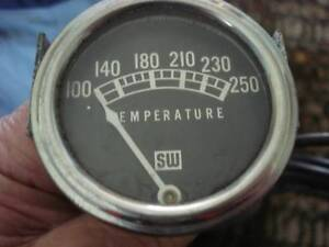 TEMPERATURE GAUGE CAPILLARY TUBE TYPE STEWART WARNER USA Dianella Stirling Area Preview