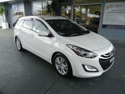 2013 Hyundai i30 GD Tourer Active 1.6 CRDi White 6 Speed Manual Wagon Hamilton Newcastle Area Preview