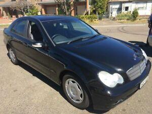 2004 Mercedes-Benz C180 W203 Kompressor Classic Black 5 Speed Auto Tipshift Sedan